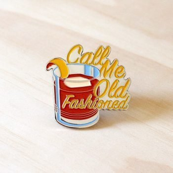 Old Fashioned Cocktail Pin