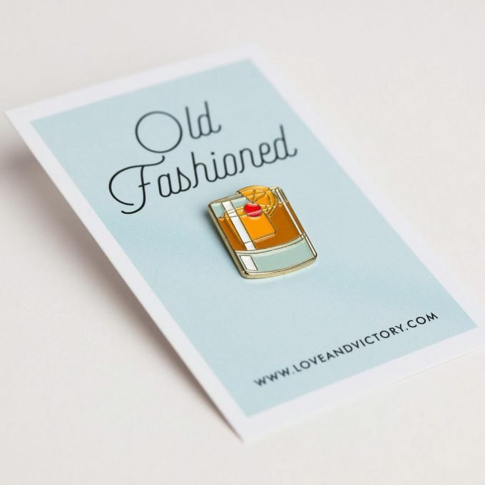 Whiskey Cocktail Pin